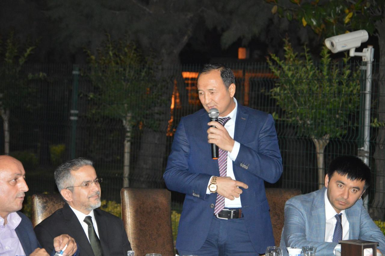 Türk Dünyası Temsilcileri Kültür AŞ İftarında Buluştu Galeri - 9. Resim