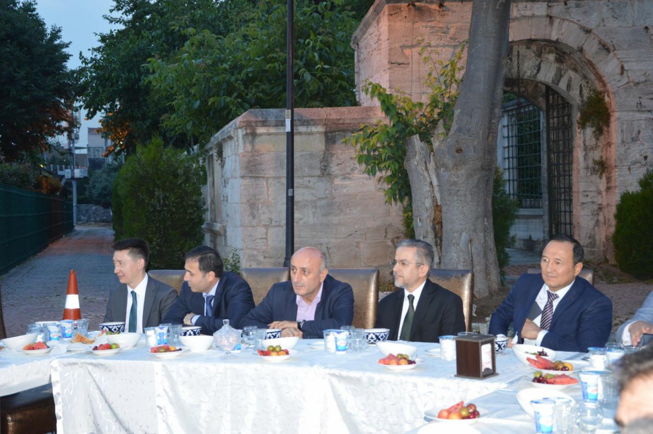Türk Dünyası Temsilcileri Kültür AŞ İftarında Buluştu Galeri - 5. Resim
