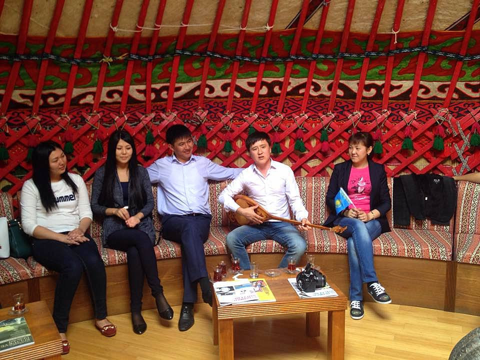 Visit from Kazakh students to Topkapı Turkish World Cultural Site Galeri - 3. Resim