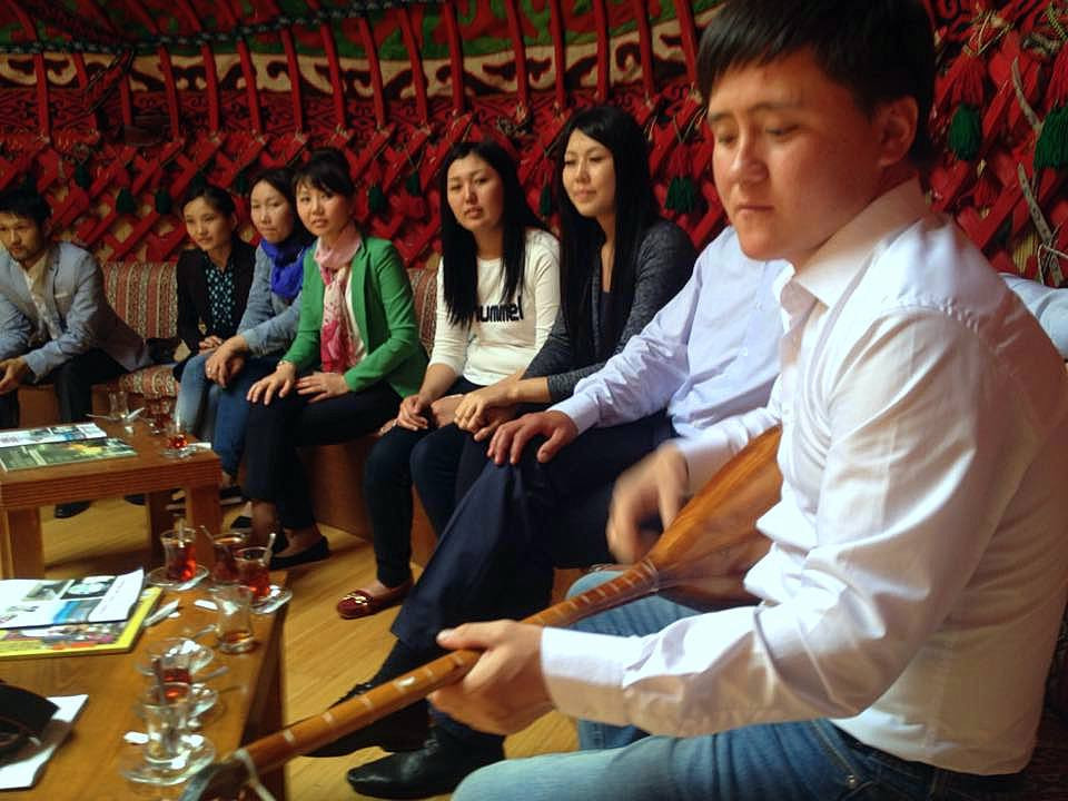 Visit from Kazakh students to Topkapı Turkish World Cultural Site Galeri - 2. Resim