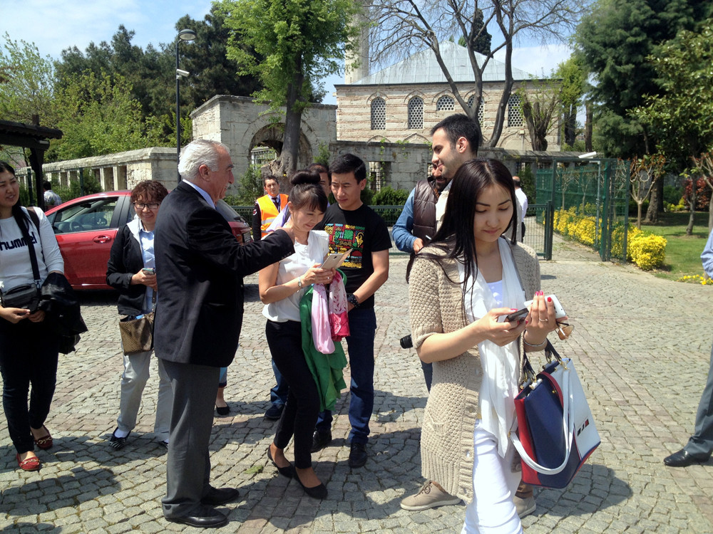 Visit from Kazakh students to Topkapı Turkish World Cultural Site Galeri - 11. Resim