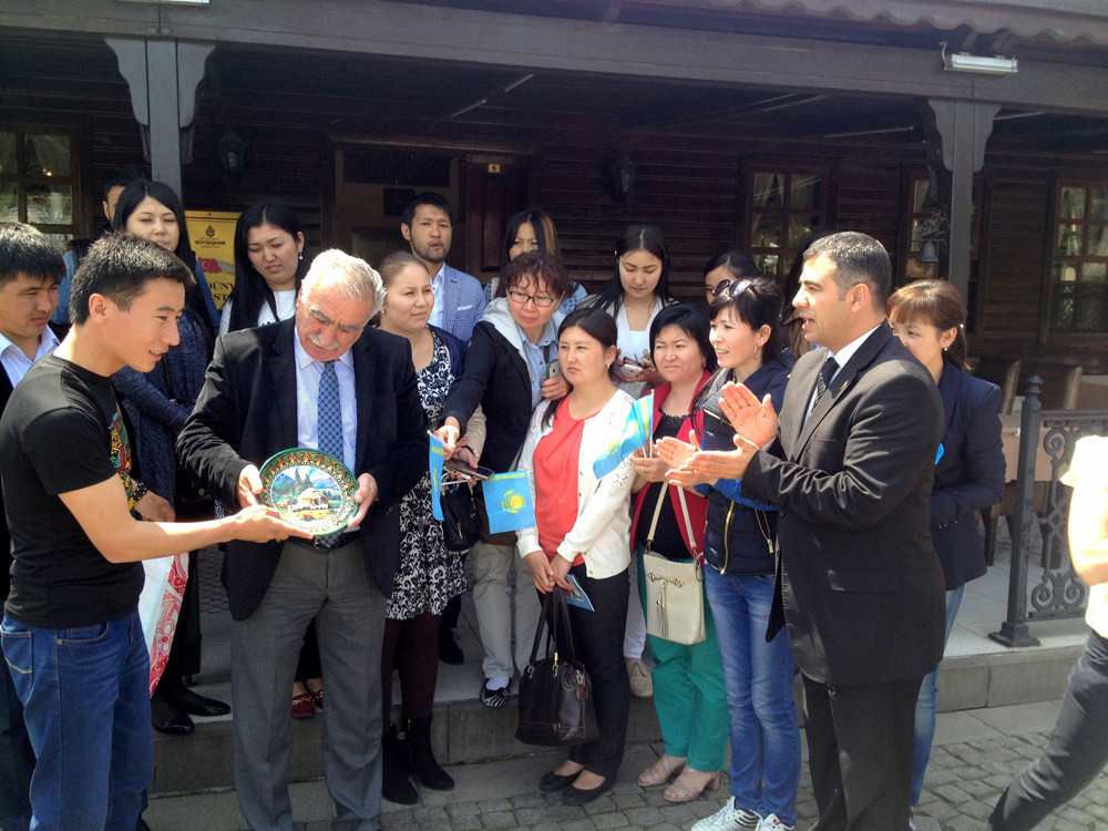 Visit from Kazakh students to Topkapı Turkish World Cultural Site Galeri - 8. Resim