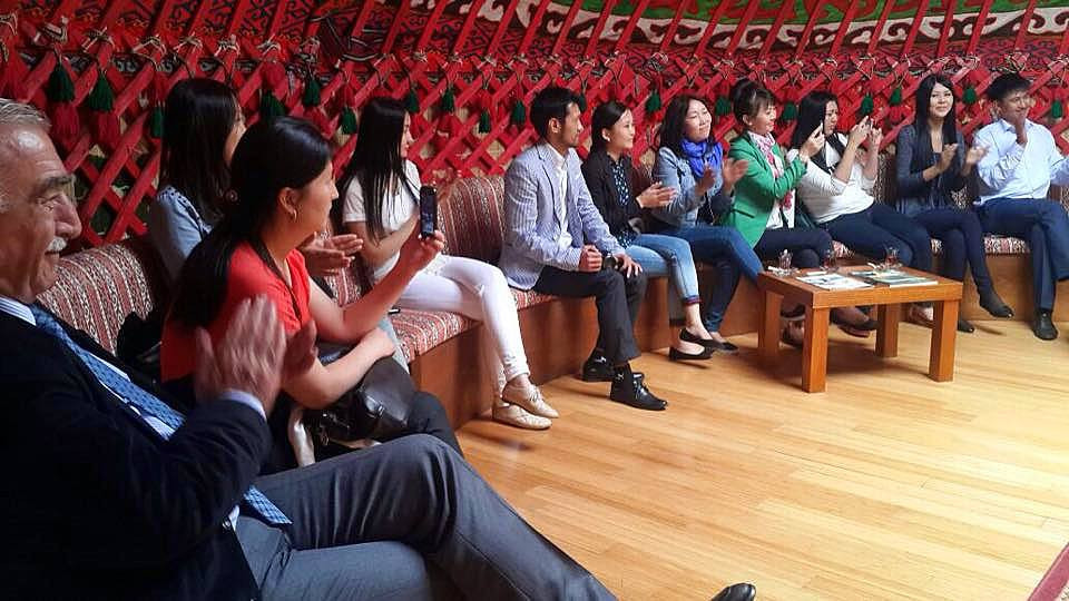 Visit from Kazakh students to Topkapı Turkish World Cultural Site Galeri - 1. Resim