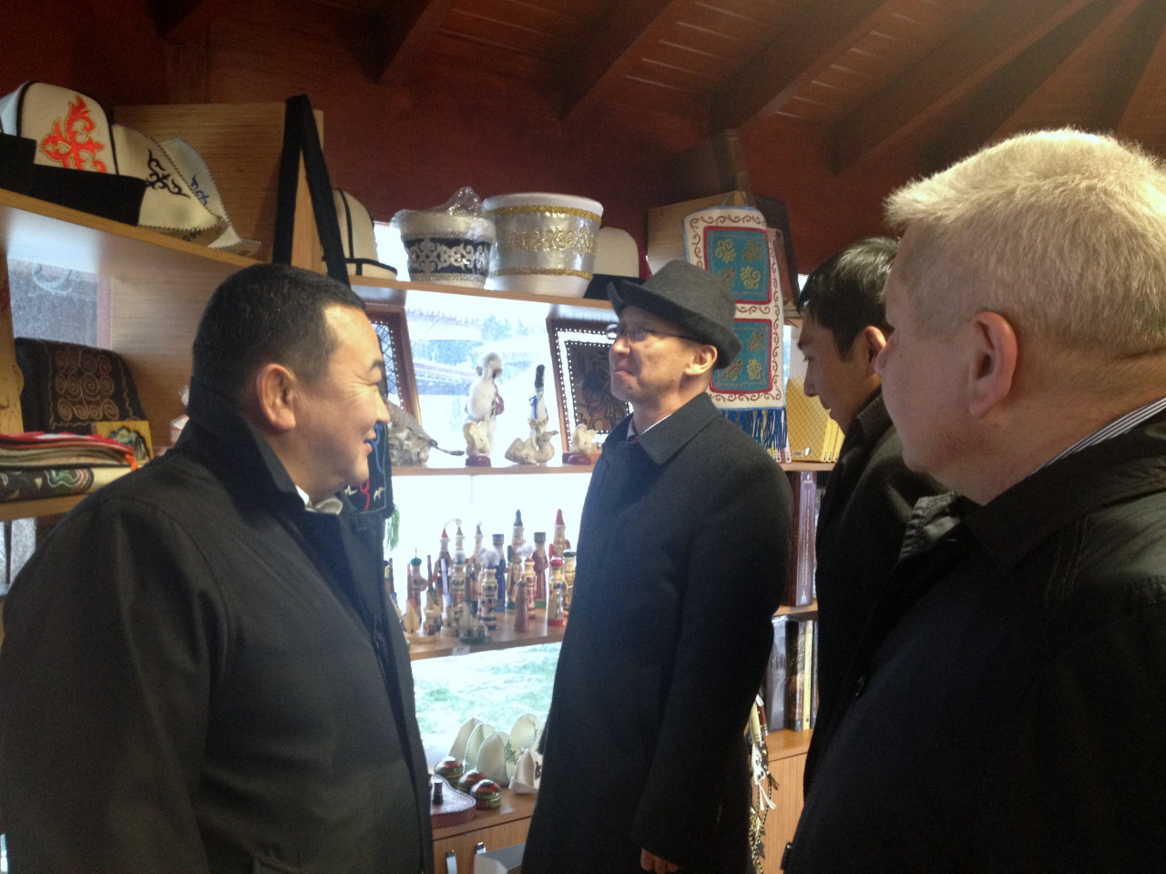 Visit from the Deputy Minister Chakiev to Culture Co. Galeri - 13. Resim