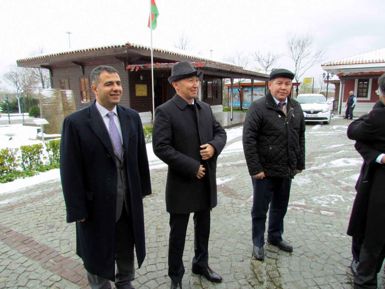 Visit from the Deputy Minister Chakiev to Culture Co. Galeri - 11. Resim