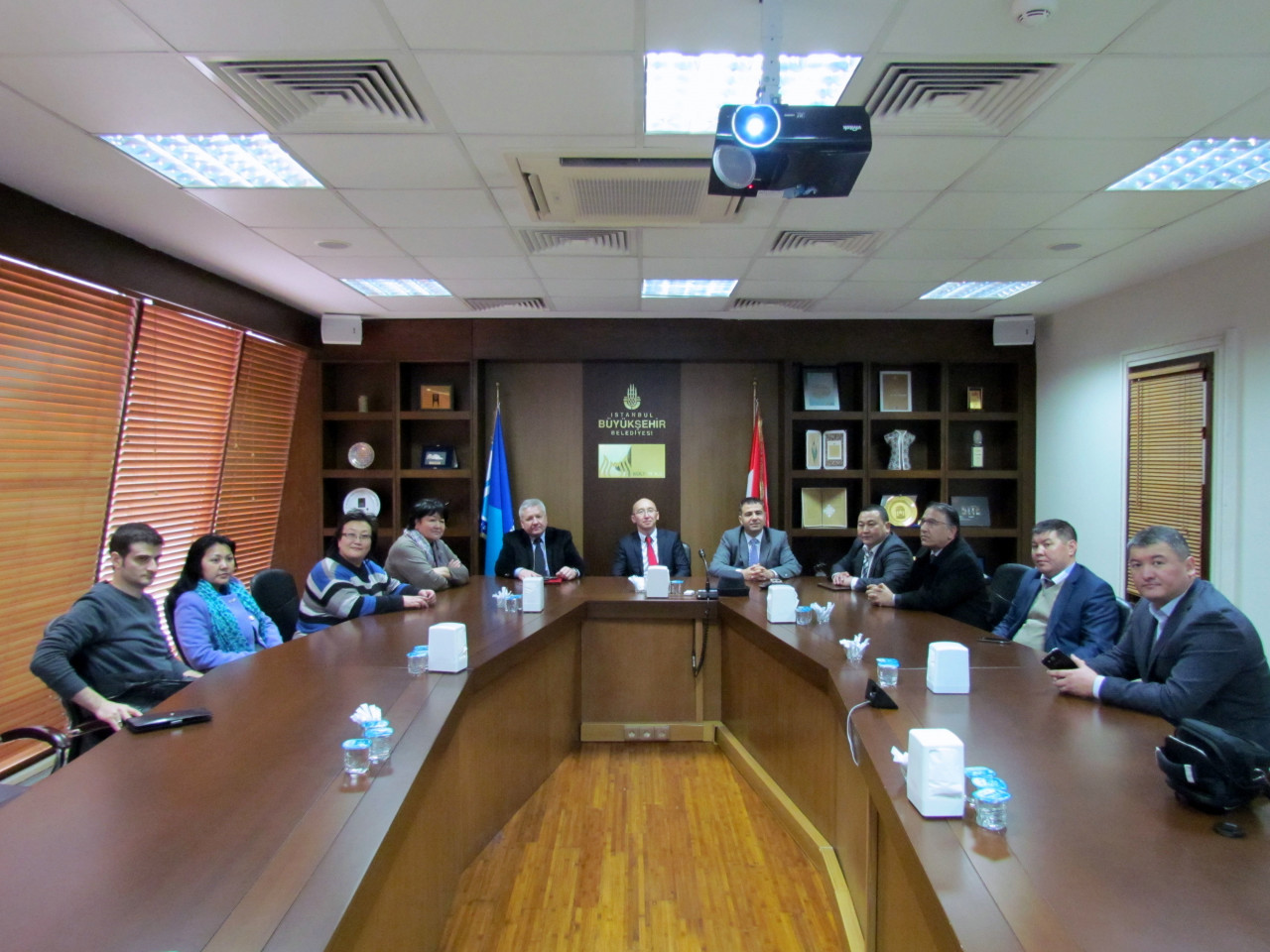 Visit from the Deputy Minister Chakiev to Culture Co. Galeri - 15. Resim