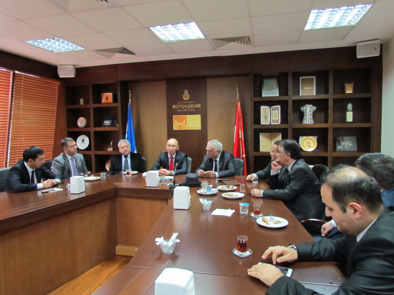 Visit from the Deputy Minister Chakiev to Culture Co. Galeri - 3. Resim