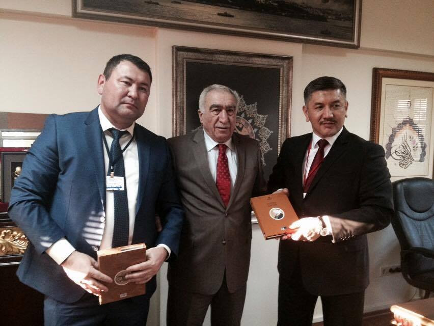 Visit from the Parliament of Kyrgyzstan to Nevzat Kütük, the General Director of Culture Co. Galeri - 9. Resim