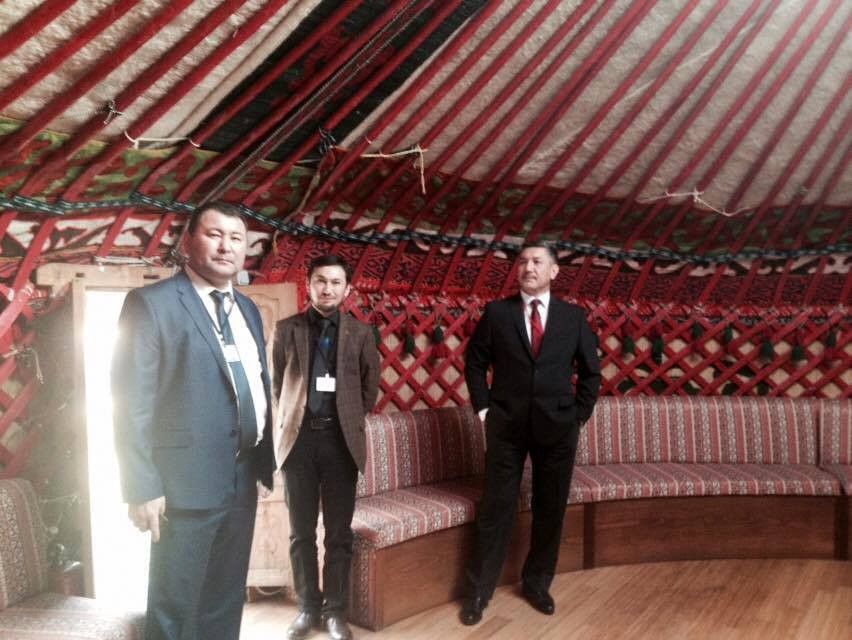 Visit from the Parliament of Kyrgyzstan to Nevzat Kütük, the General Director of Culture Co. Galeri - 10. Resim