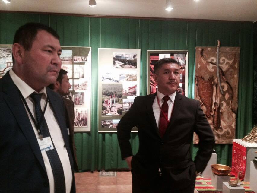 Visit from the Parliament of Kyrgyzstan to Nevzat Kütük, the General Director of Culture Co. Galeri - 3. Resim
