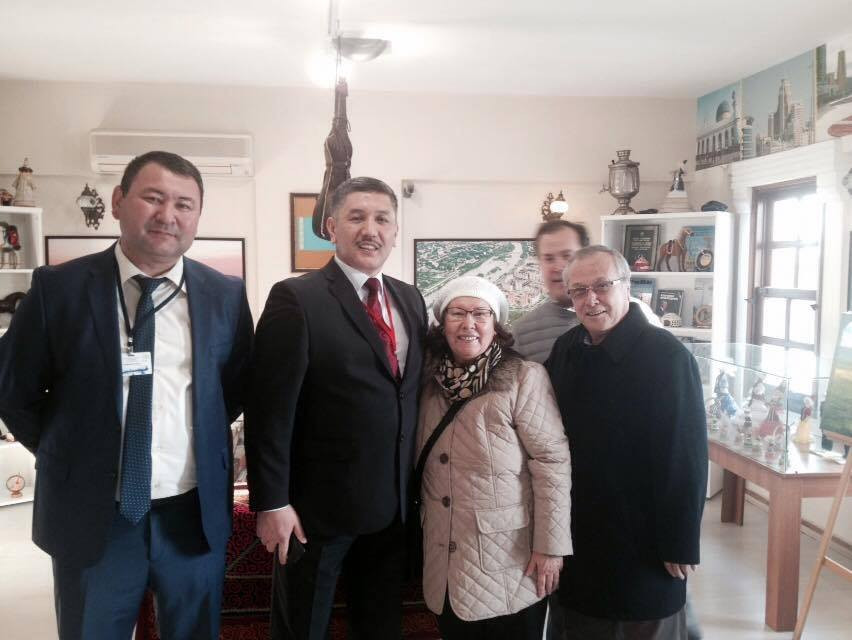 Visit from the Parliament of Kyrgyzstan to Nevzat Kütük, the General Director of Culture Co. Galeri - 4. Resim