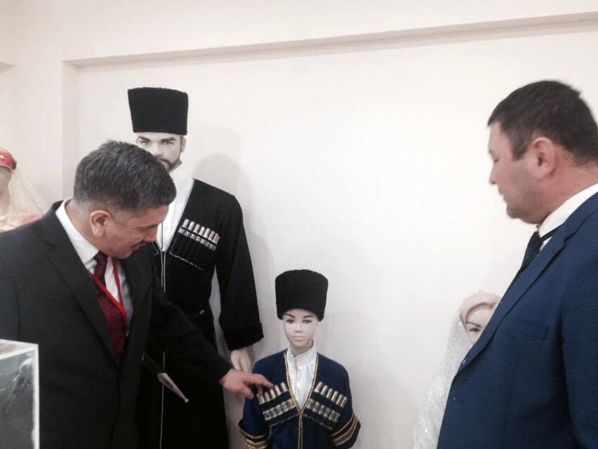 Visit from the Parliament of Kyrgyzstan to Nevzat Kütük, the General Director of Culture Co. Galeri - 8. Resim