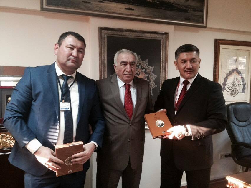 Visit from the Parliament of Kyrgyzstan to Nevzat Kütük, the General Director of Culture Co. Galeri - 1. Resim