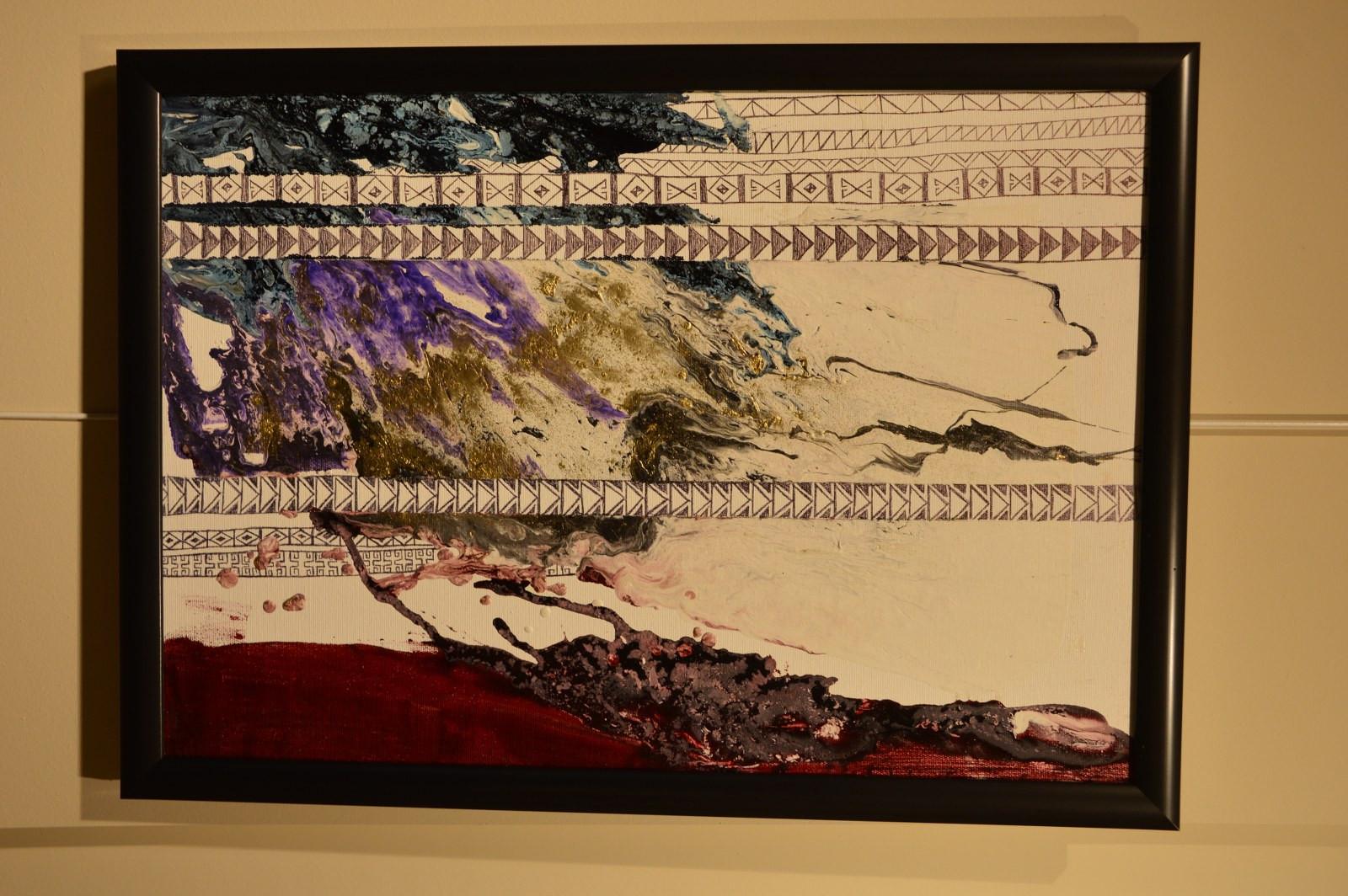 """İstanbul Büyükşehir Belediyesi'nin destekleriyle Kazıbekova'nın """"Cama İşlenen Sanat"""" sergisi Türk Dünyası Kültür Mahallesi'nde açıldı Galeri - 13. Resim"""