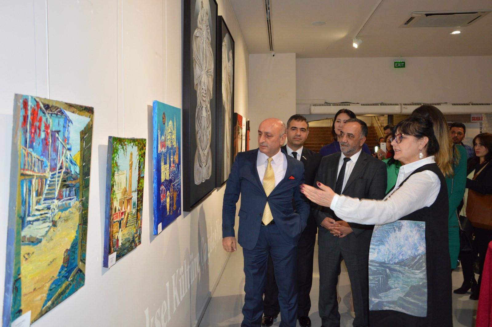 Türk Dünyasından Kadın Sanatçılar İstanbul'da Buluştu Galeri - 7. Resim