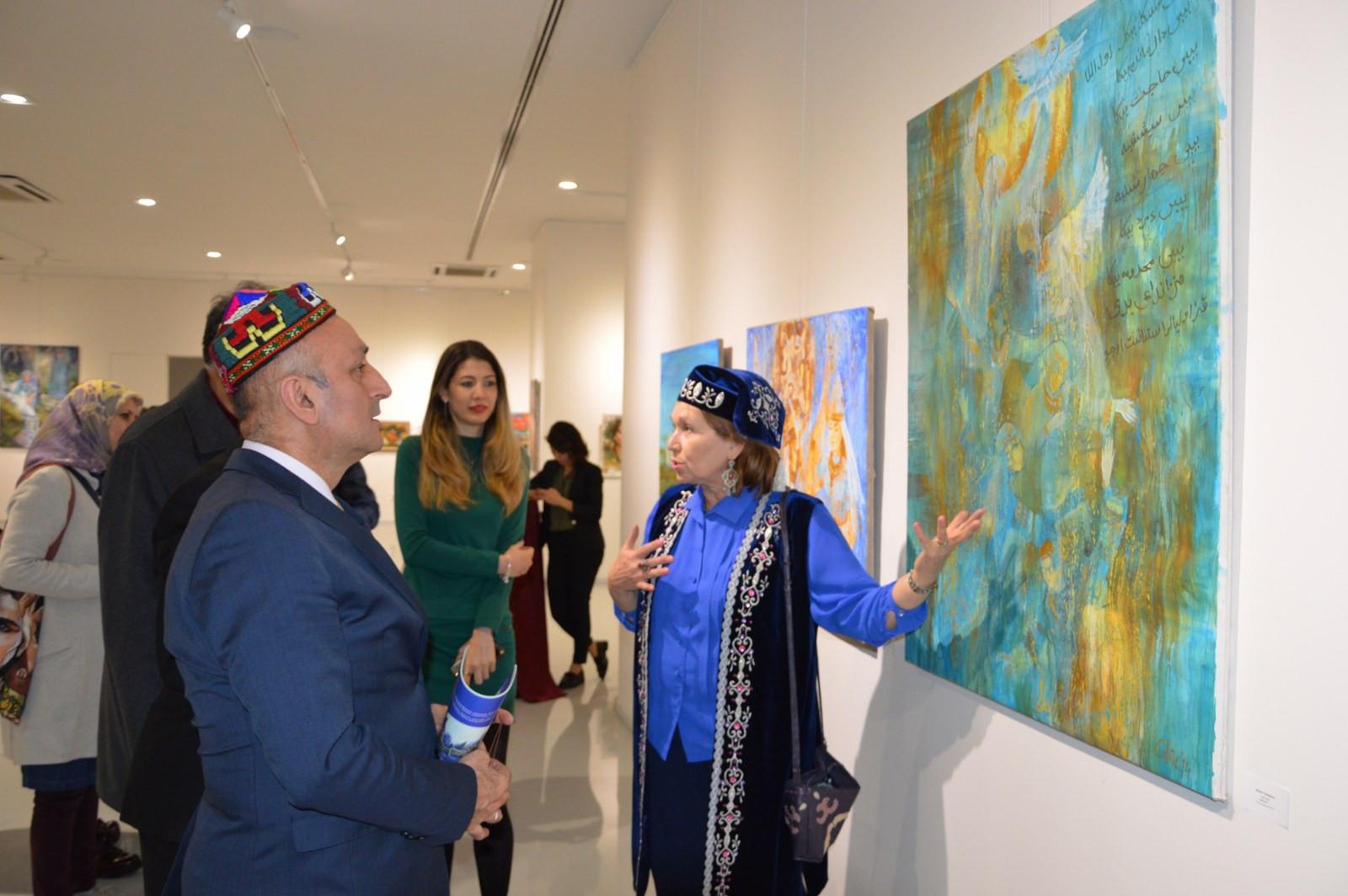 Türk Dünyasından Kadın Sanatçılar İstanbul'da Buluştu Galeri - 13. Resim