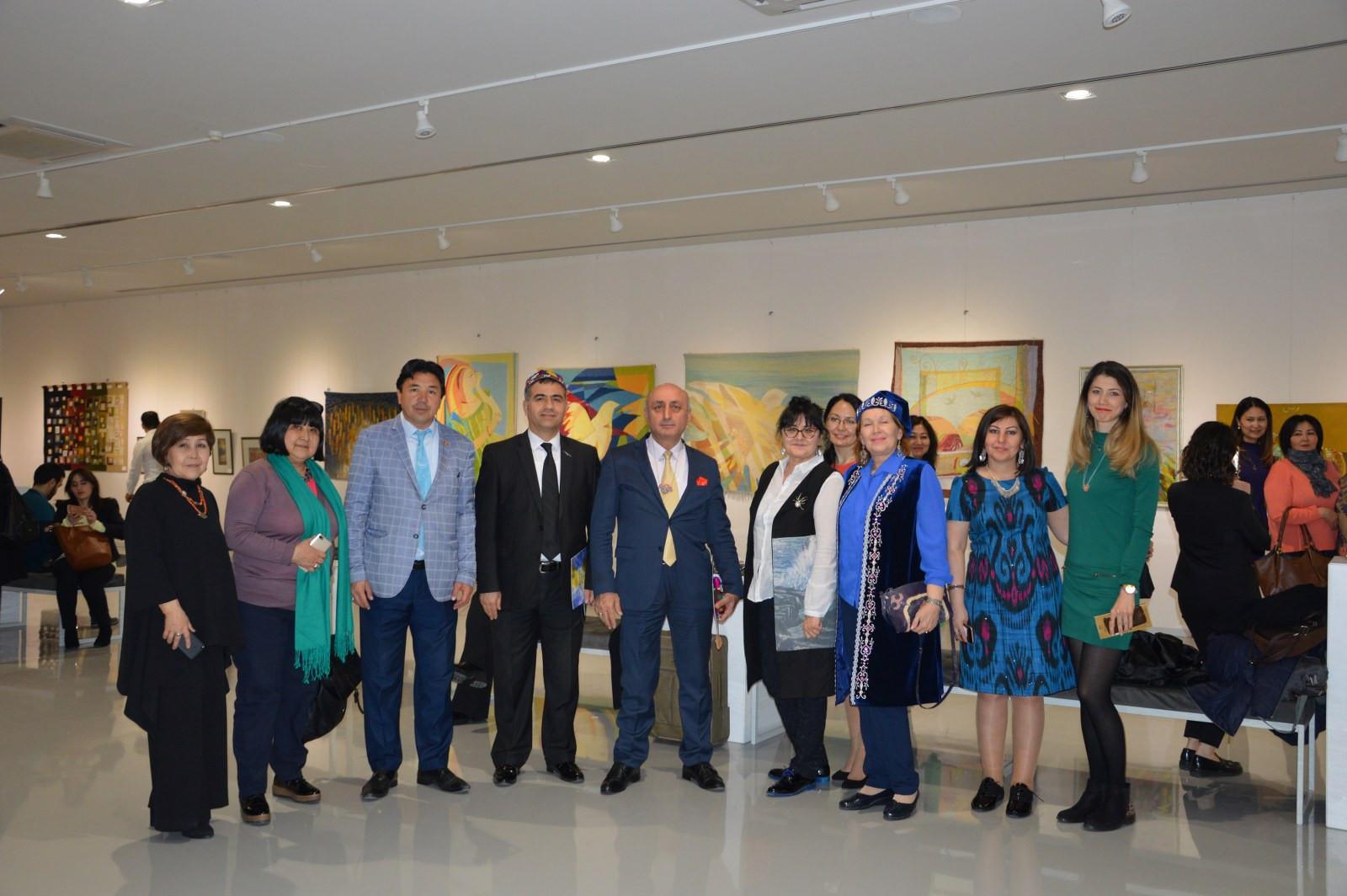 Türk Dünyasından Kadın Sanatçılar İstanbul'da Buluştu Galeri - 17. Resim