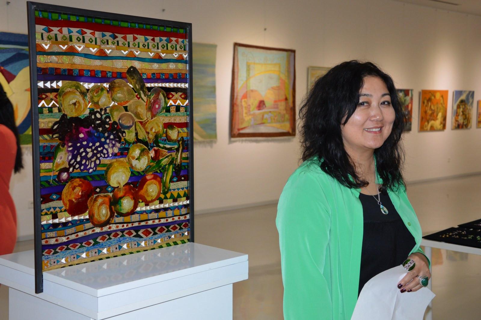 Türk Dünyasından Kadın Sanatçılar İstanbul'da Buluştu Galeri - 25. Resim