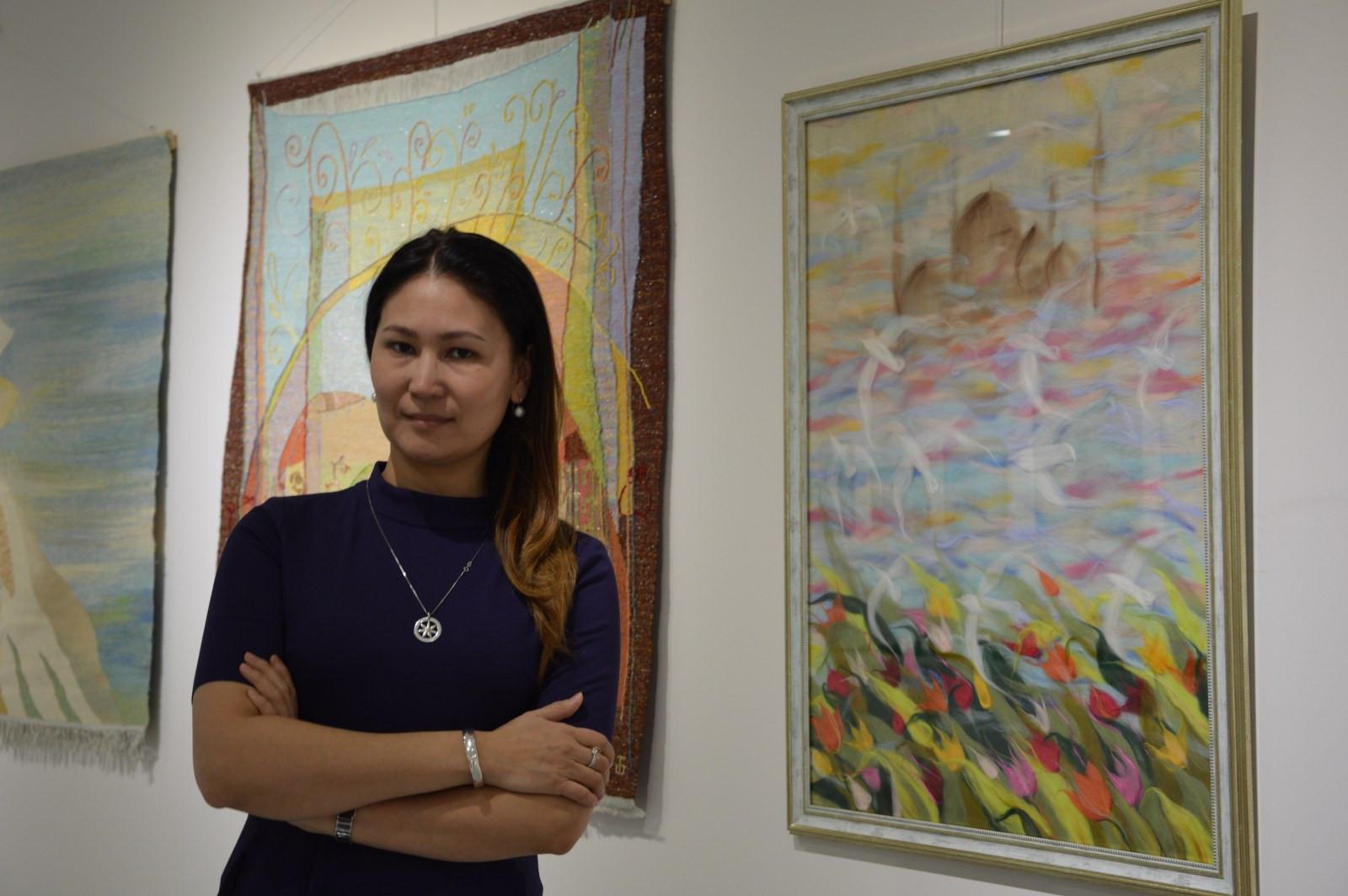 Türk Dünyasından Kadın Sanatçılar İstanbul'da Buluştu Galeri - 26. Resim