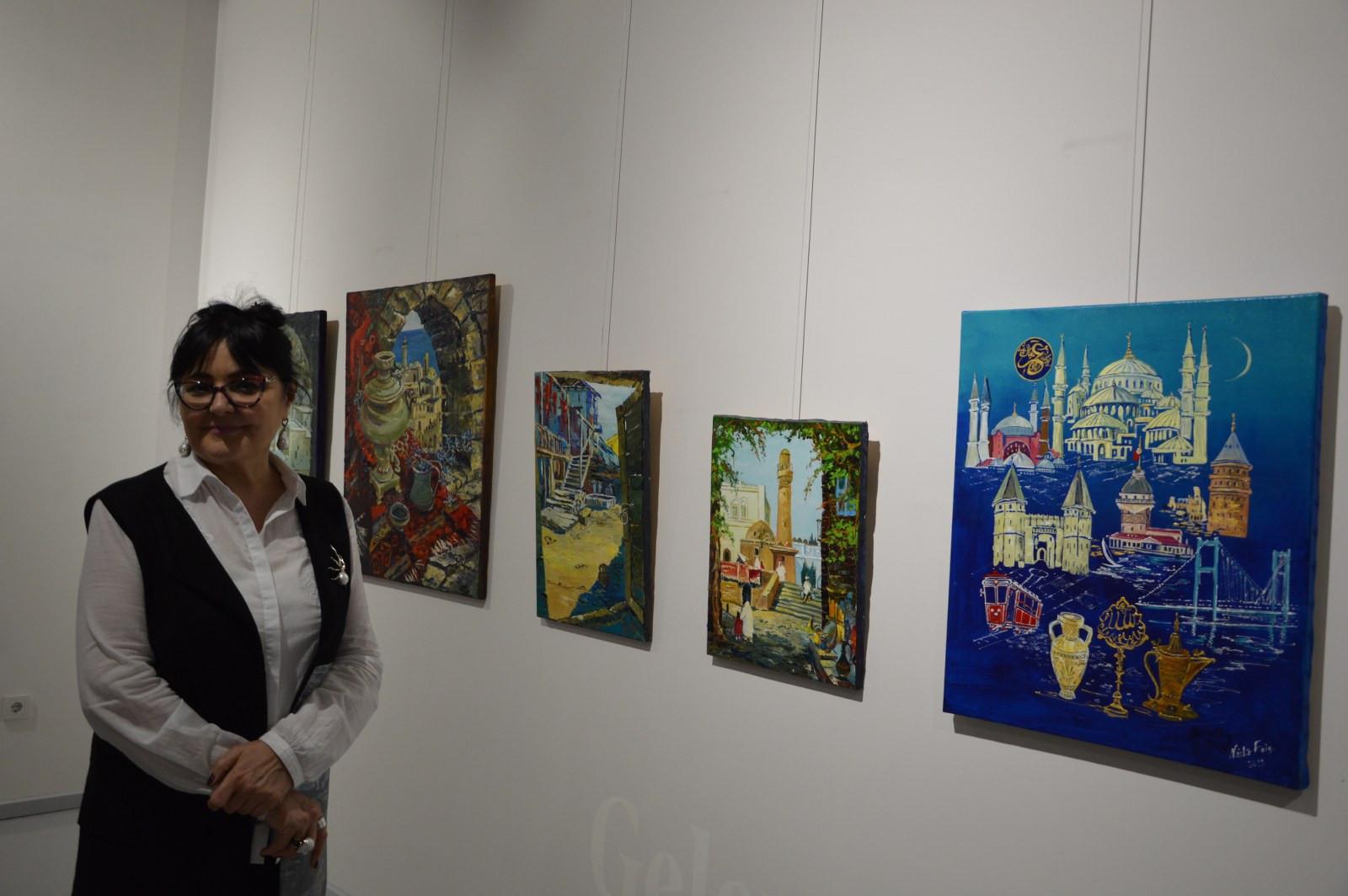Türk Dünyasından Kadın Sanatçılar İstanbul'da Buluştu Galeri - 28. Resim