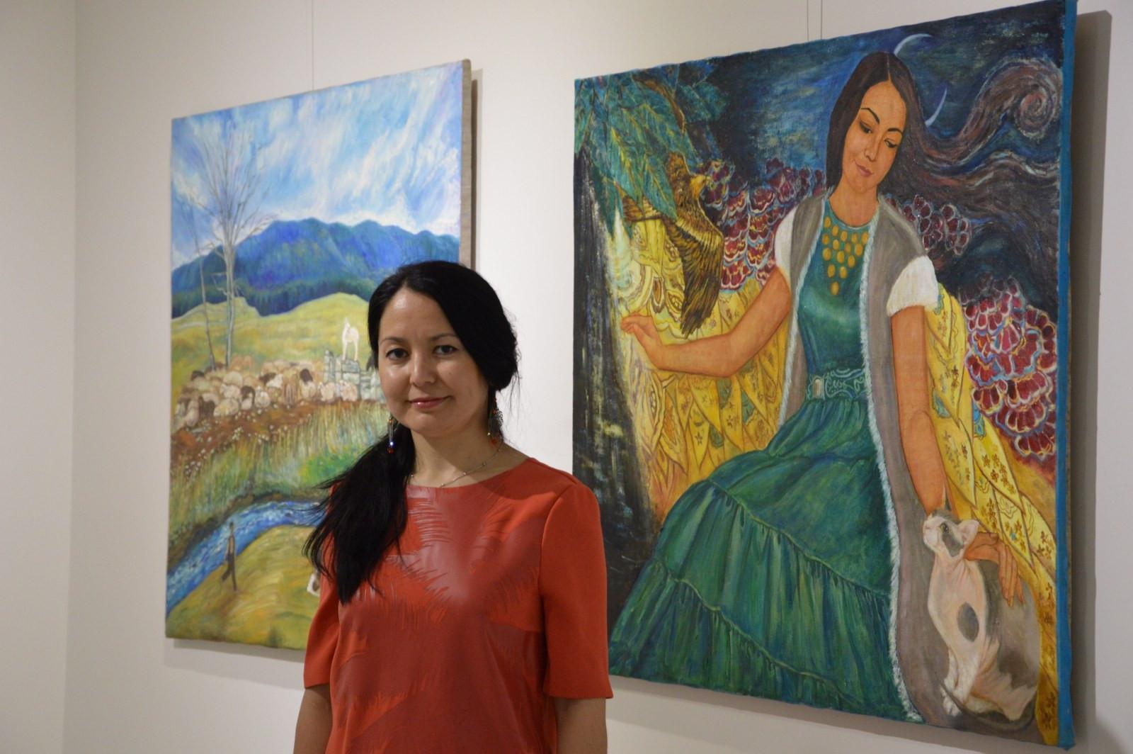 Türk Dünyasından Kadın Sanatçılar İstanbul'da Buluştu Galeri - 29. Resim