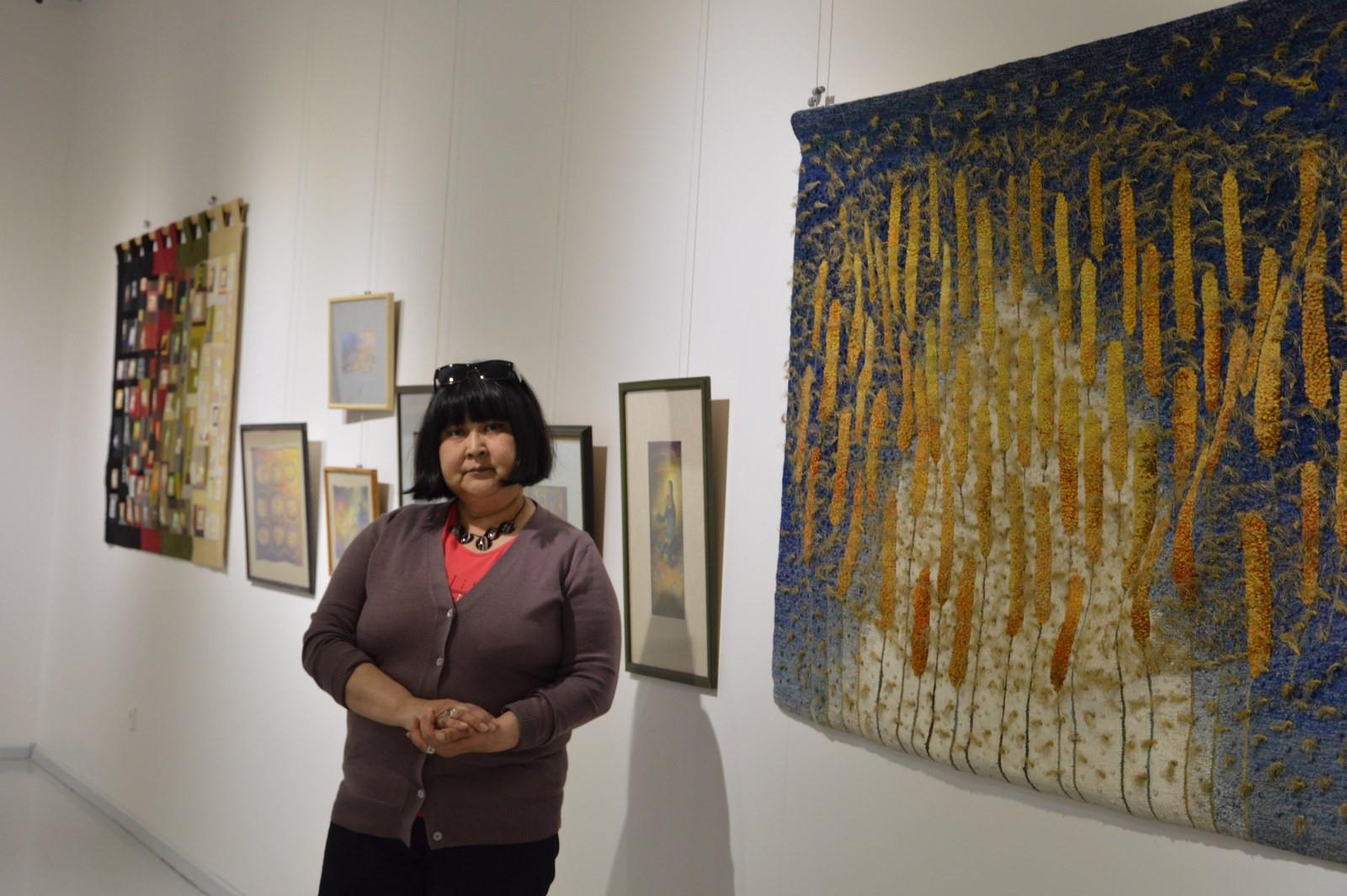 Türk Dünyasından Kadın Sanatçılar İstanbul'da Buluştu Galeri - 30. Resim