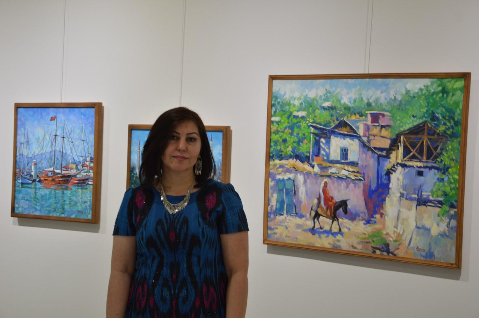 Türk Dünyasından Kadın Sanatçılar İstanbul'da Buluştu Galeri - 33. Resim