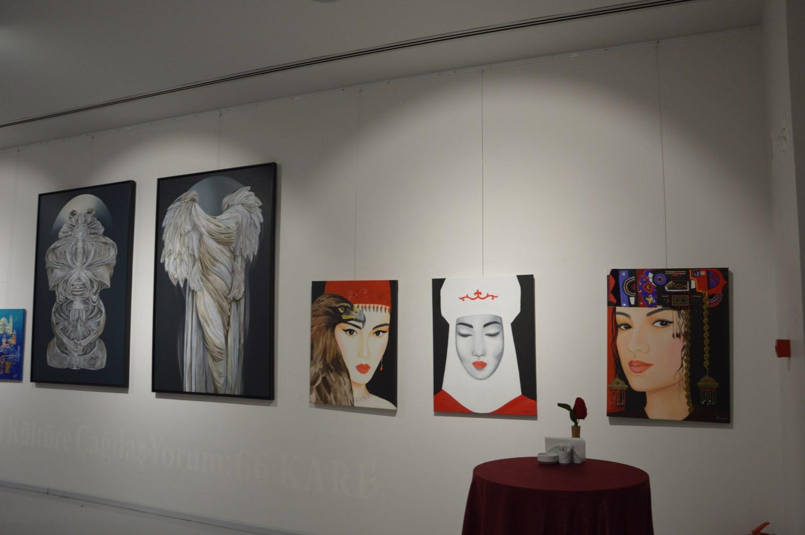 Türk Dünyasından Kadın Sanatçılar İstanbul'da Buluştu Galeri - 34. Resim