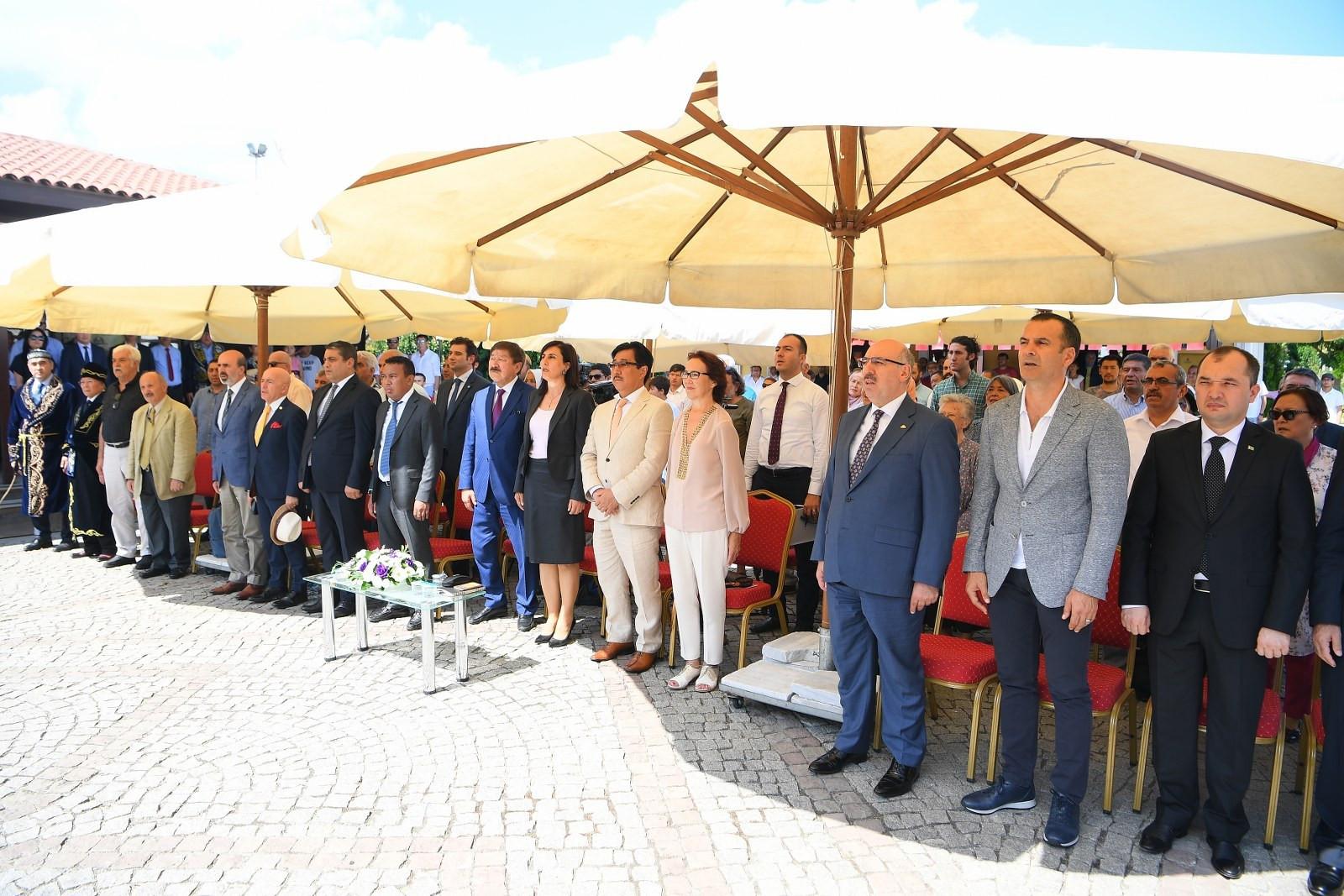 Ebu Nasr El Farabi Evi açıldı Galeri - 1. Resim