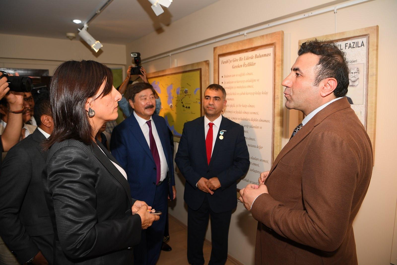 Ebu Nasr El Farabi Evi açıldı Galeri - 24. Resim